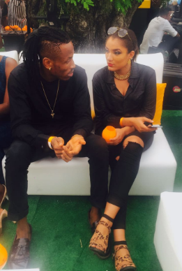 #BBNaija's Gifty Spotted With Rumored Lover, Mr 2Kay At Event