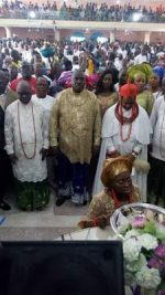 Photo-Speak: Delta State Holds Thanksgiving Service In Honor Of Convicted Embezzler, James Ibori