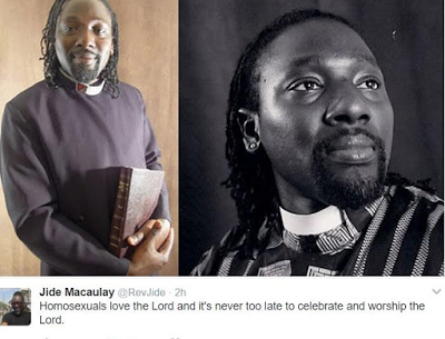 """Homosexuals Love The Lord Too"" – Nigerian Gay Pastor, Jide Macaulay Says"