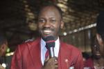 Apostle Suleiman Shades Stephanie Otobo During Sermon [Watch Video]