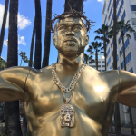 Praise Yeezus! Kanye West Immortalized With Mammoth Crucifixion Statue In Hollywood [Photos]