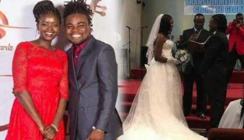 Drama As Gospel Singer Ends Her Marriage Few Hours After Saying Vows On The Altar
