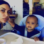Kim Kardashian Shares Beautiful Selfies With Son, Saint West [Photos]