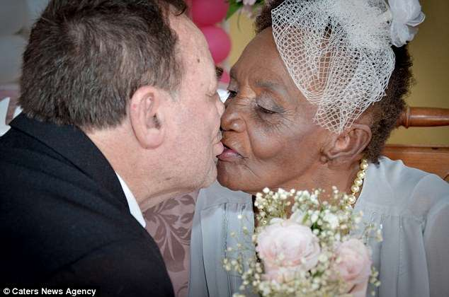 Talk About Ageless Romance! 106 Year-old Woman Gets Married To Her 66 Year Old Lover [Photos]