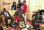 News Flash: Mavins Crew Visit Pres. Buhari In London [Photo]