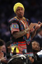 Nick Cannon Rocks Nigerian Outfit, 'Danshiki' To NBA All Star Game In New Orleans
