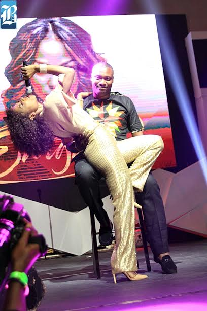 Niyola Surprises Lucky Fan With Erotic Lap Dance During Performance At Eargasm Concert