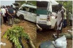 Graphic: Two Taraba NYSC Members Die In Fatal Crash While Returning From Camp
