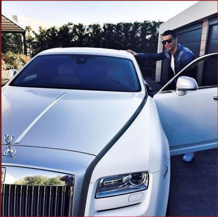 PHOTOS: See Cristiano Ronaldo's Mouthwatering Car Collection