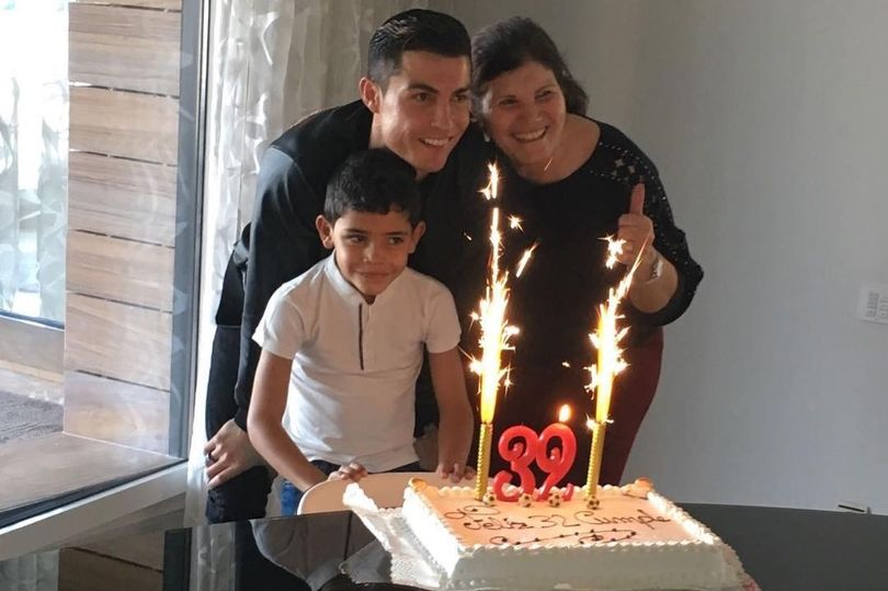 Photos: Portuguese Legend, Cristiano Ronaldo Celebrates 32nd Birthday With Family