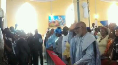 First Pictures From Thanksgiving Service Of New Ondo Governor, Rotimi Akeredolu