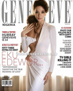 TV Girl, Eku Edewor & Adorable Daughter Cover Latest Issue Of Genevieve Magazine