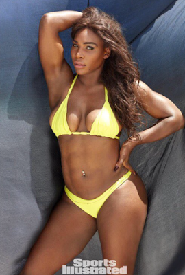 Black Beauty! Serena Williams Oozes Sex Appeal In Photoshoot For Sports Illustrated