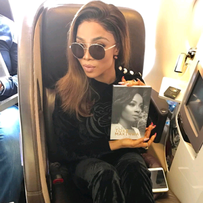 Despite Threats Of a Lawsuit, Toke Makinwa Takes Book Tour To London [Photos]