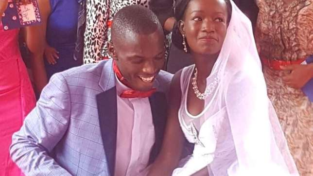 Kenyan Couple Who Went Viral After Having a $1 Wedding Gets All Expenses Paid $35,000 Wedding