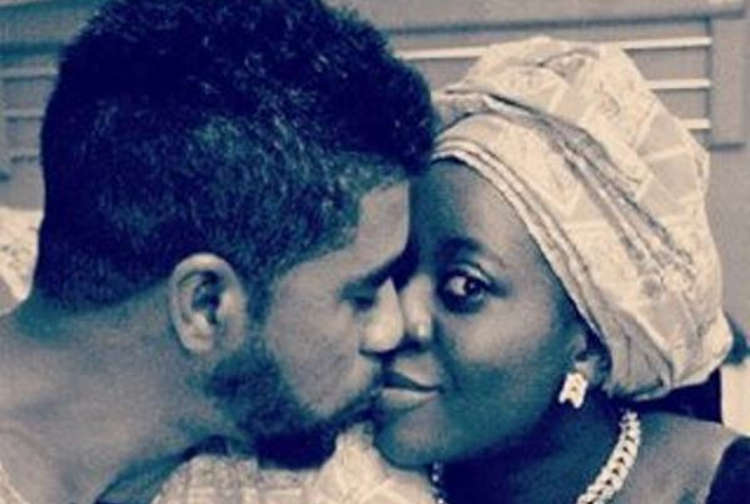 #BBNaija: Thin Tall Tony's Wife Shows Undying Support For Him Online Despite Him Denying Their Marriage On TV