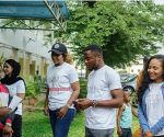 Ubi Franklin & Lilian Esoro Step Out Together To Charity Event, Quell Rumors Of Marriage Crisis [Photos]