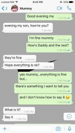 Check Out Interesting Convo Between Mother & Son After He Pranked Her With Pregnancy Scare