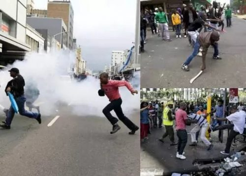 Xenophobia: Nigerians In South Africa Now Reportedly Fighting Back With Guns