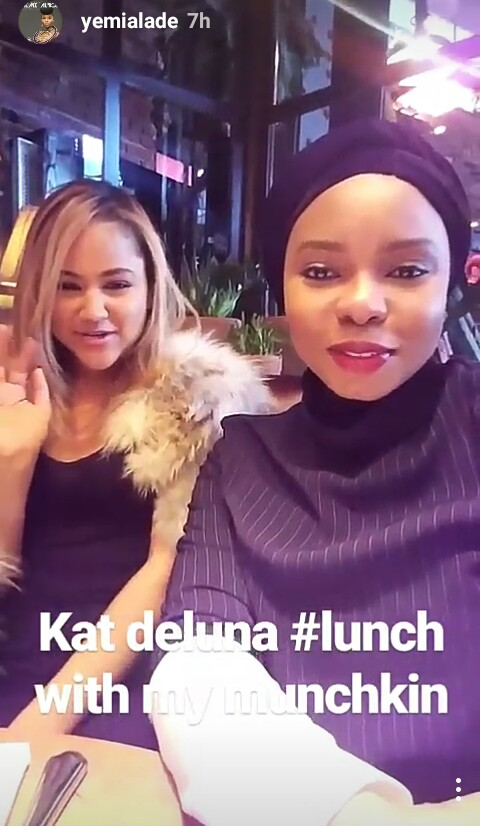 Yemi Alade Hangs Out With Popular American Female Singer [Photos]