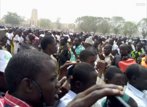 Over 50,000 Youths Hold Public Prayers For President Buhari In His Hometown Daura [photos]