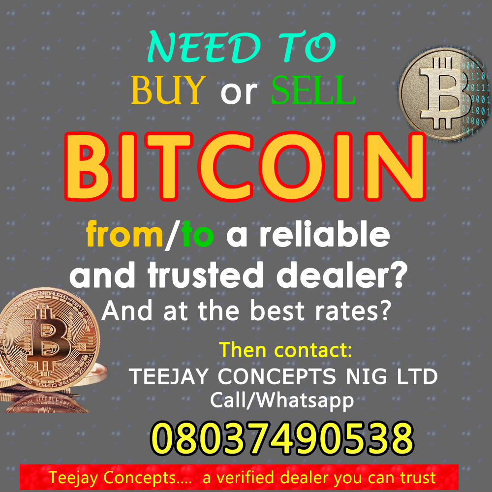 Buy/Sell Bitcoin At The Best Rate Possible From TJ Concept