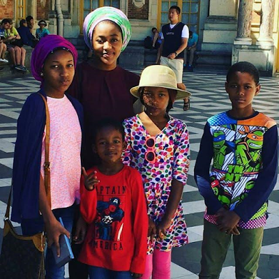 Check Out President Buhari's Beautiful Grandchildren [Photo]