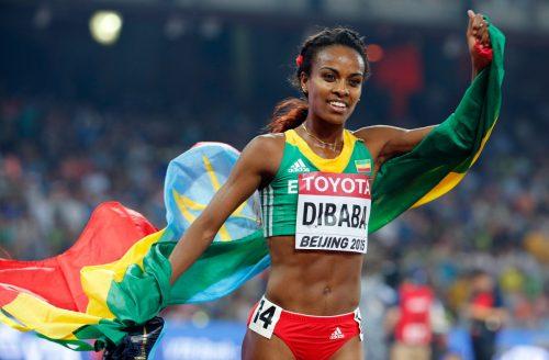 Ethiopian Athlete, Genzebe Dibaba Smashes 19 Year World Record