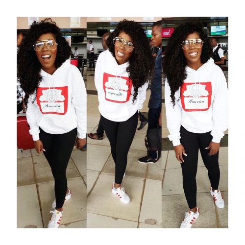 #AirportStyle: Tiwa Savage Shares Beautiful New Photos