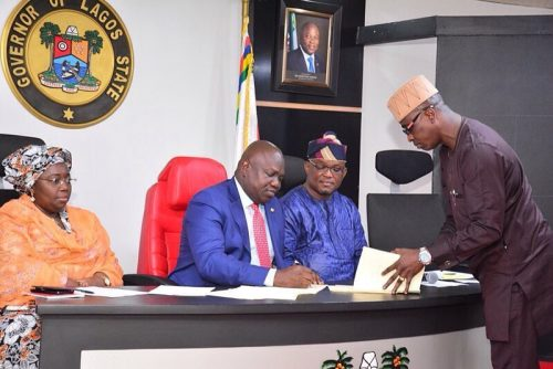 Governor Ambode Signs Three Important Bills To Law