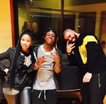 Drake And Nicki Minaj Pictured Together In The Studio