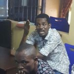 Again??? Alleged Iphone Thief Seun Egbegbe Caught Trying To Dupe Mallam Of N10 Million( Photos And Video)