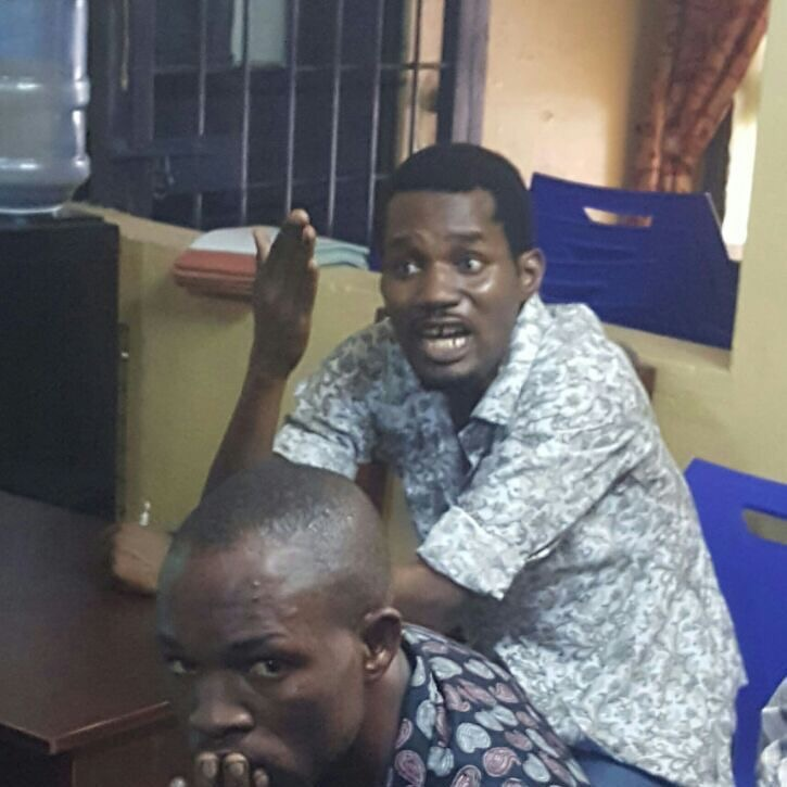 Update: Seun Egbegbe Actually Tried To Dupe Bureau De Change Operators $60,000 Not N10 Million(Photos)