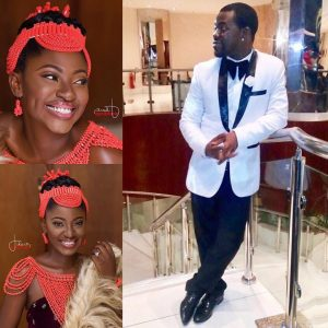First Photos From Actress Yvonne Jegede Marriage To Actor And Late Actress Bukky Ajayi's Son, Olakunle Fawole