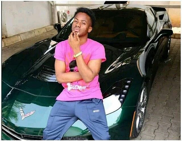 The N33million Convertible Doesn't Belong To KoredeBello, He Was Only Taking Pictures