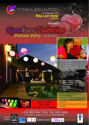 Come Have A Swell Time At Fynehues Valentine Poolside Party