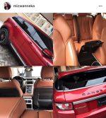 Popular Hair Dealer Mizwanneka Buys Husband Range Rover Evoque For Valentine