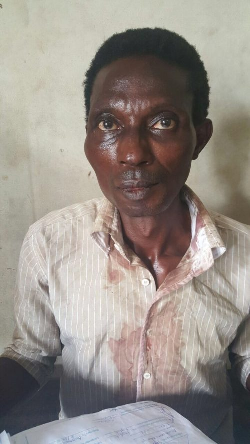 51 Year Old Man Axes Mother To Death Over Sister's Will( Graphic Photos)