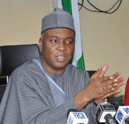 """I Spoke To President Buhari And He Was In Good Spirits""-Senate President Bukola Saraki"
