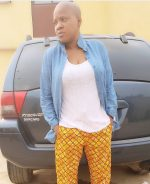 Again Actess Toyin Aimakhu Changes Look, Goes Bald For Another Movie