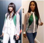 Who Wore It Better: Tiwa Savage Vs Genevieve In Sheer Shirt