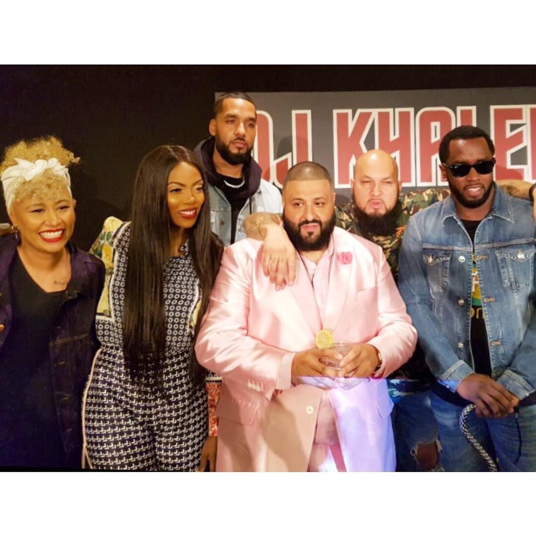 Tiwa Savage Pictured With DJ Khaled, Diddy, Emele Sande In LA, USA
