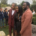 Photos: Tiwa Savage Pictured With JayZ And Diddy At Roc Nation Pre-Grammy Brunch