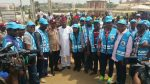 Gov Amosun Expresses Delight AsFRSC Celebrity Marshals Storm Abeokuta