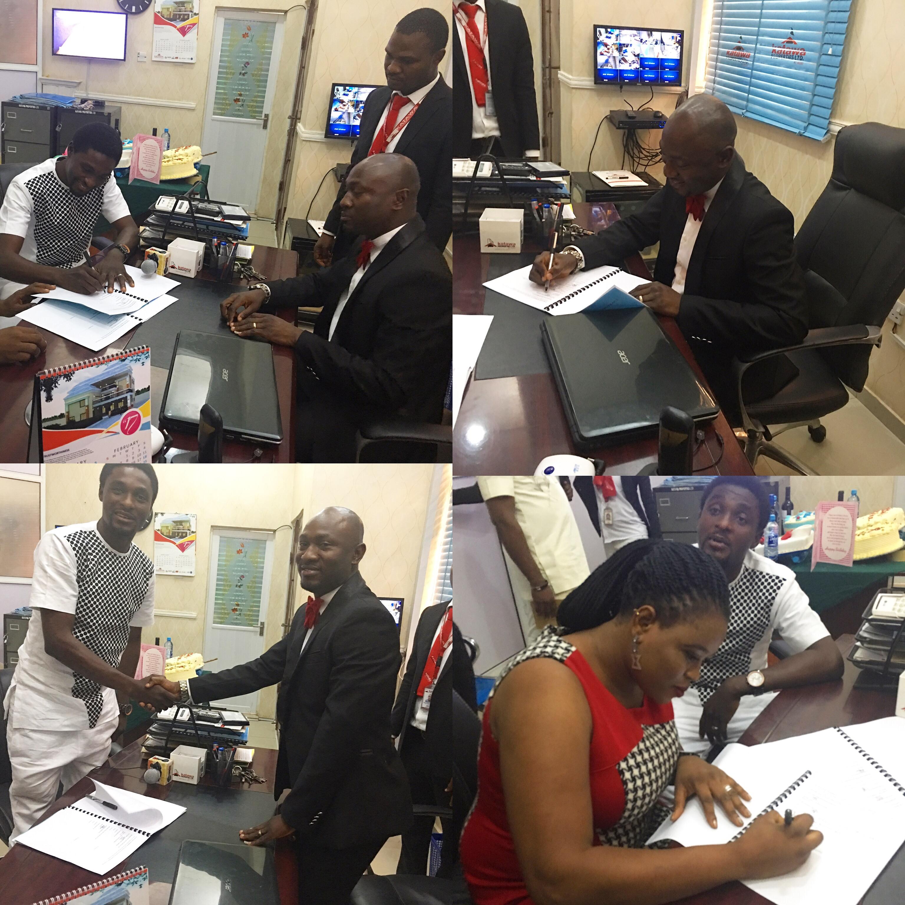 Adeniyi Johnson Inks Mouthwatering Deal With Katawa Properties