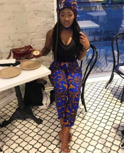 Check Out Lovely Pictures Of Omotola's Daughter, Meraiah As She Marks 17th Birthday