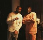 Burna Boy Meets Drake In London (Photos)