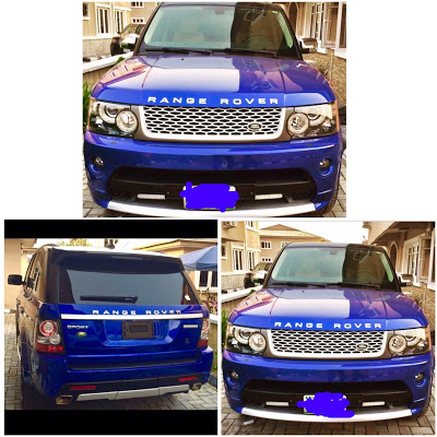 What Recession? Celebrity Stylist Jeremiah Ogbodo Acquires Brand New Range Rover sport