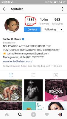 Tonto Dikeh Deletes All Photos Of Estranged Husband On Instagram