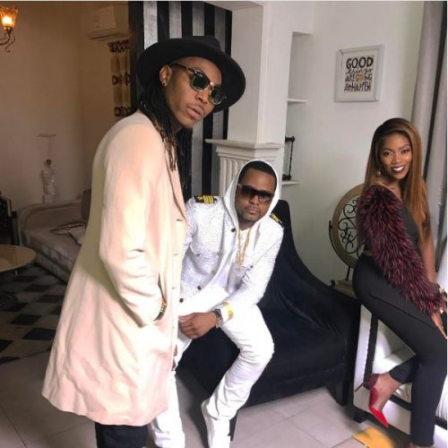 Check Out More BTS Pictures From Music Video Shoot Of Tiwa Savage, Dj Exclusive & Solid Star